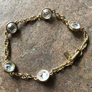"""Swarovski """"Bezel Collet Chicklet"""" bracelet"""